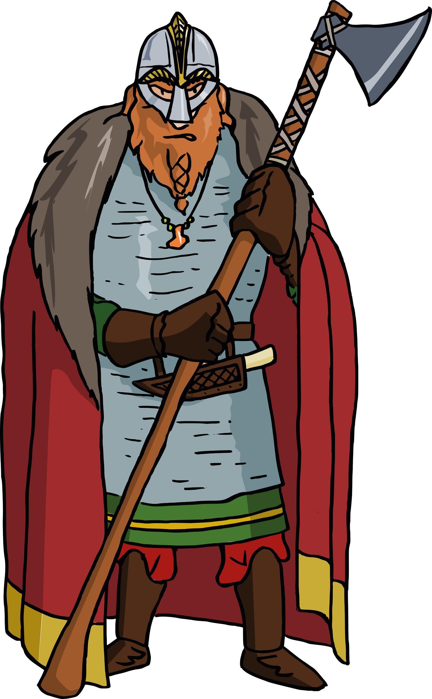 Cartoon Eric Bloodaxe