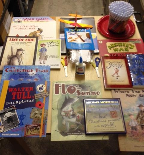Books and craft equipment