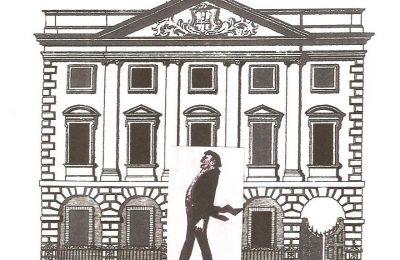 Cartoon of York Mansion House