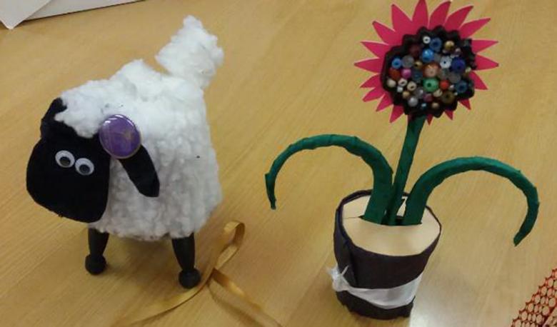 Crafts made by Helen Dawes